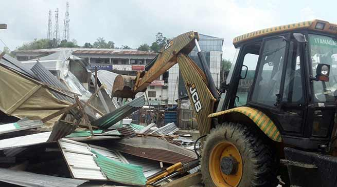 Arunachal: Talo Potom evicted many structure from TRIHMS area