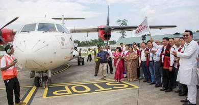 Arunachal: Khandu flags off First commercial flight from Pasighat