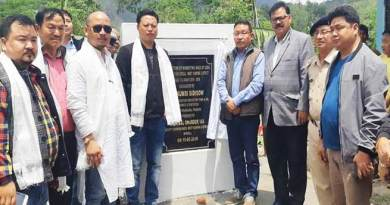 Arunachal:  Sidisow inaugurates several projects