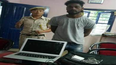 Photo of Arunachal:  Bhalukpong police arrested one person for stealing laptop