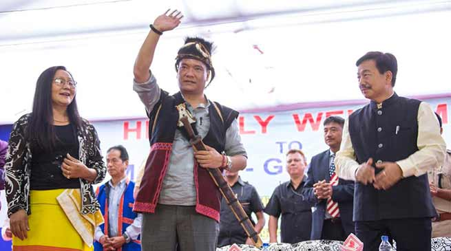 Arunachal : work culture in the state is improving- Pema Khandu