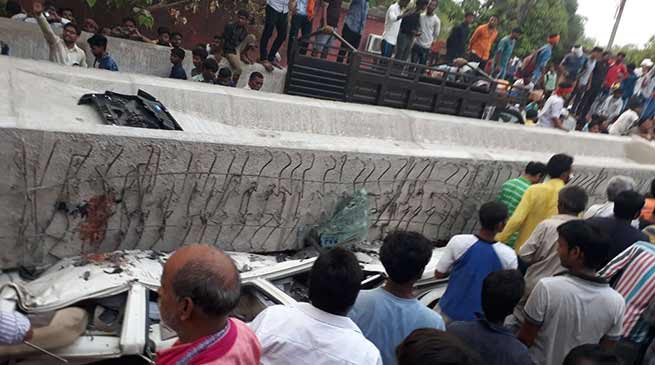 Varanasi: Under construction flyover collapses, at least 12killed