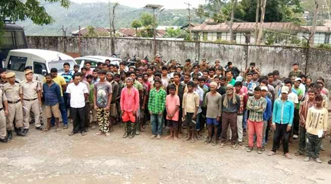 Arunachal: Londing police apprehends 87 people without ILP