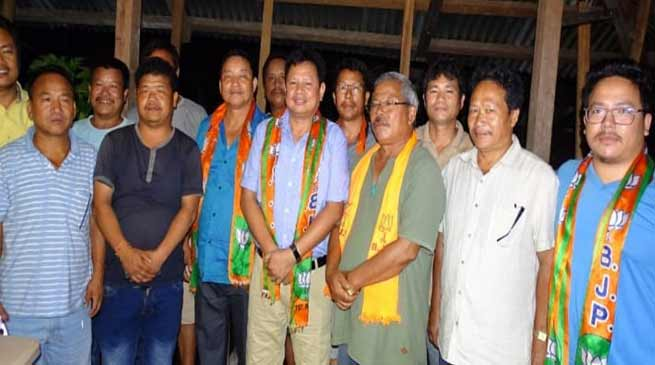 Arunachal:  BJP one step ahead in Pakke Kessang