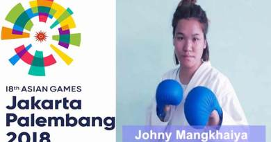 Johny Mangkhaiya of Arunachal will represent India in Asian games-2018
