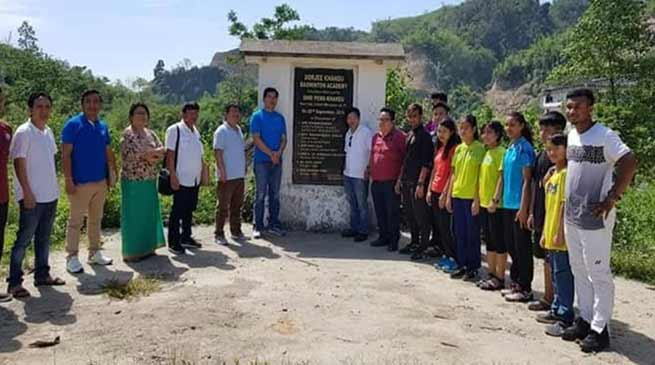 Itanagar: Minster directs officials to fast track work on badminton academy