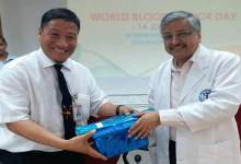 Photo of AIIMS honoured Helping Hands NGO for massive mobilisation of  blood donation