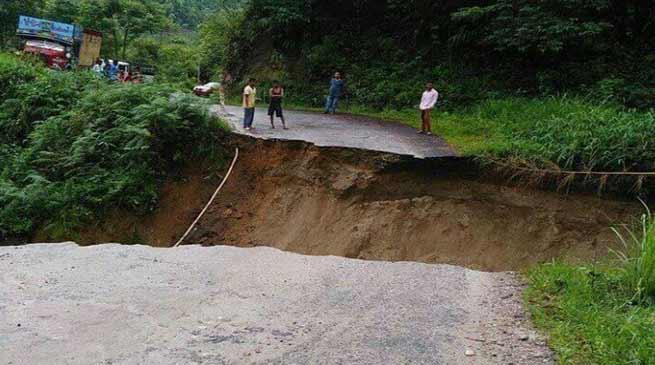 Arunachal:Heavy rains leave behind trail of destruction