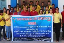 Itanagar:  CRC donates 23 units of blood to RK Mission Hospital