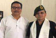 Photo of Arunachal: DCM, Maj Gen discuss ways to involve PBSG to motivate Students for joining Armed Forces