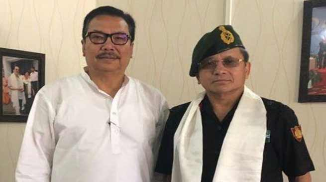 Arunachal: DCM, Maj Gen discuss ways to involve PBSG to motivate Students for joining Armed Forces