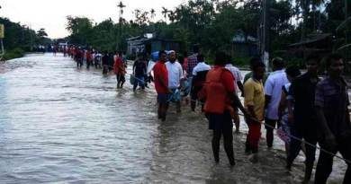 Assam: NDRF evacuates 1946 people from flash flood hit Dolahat in Lakhimpur