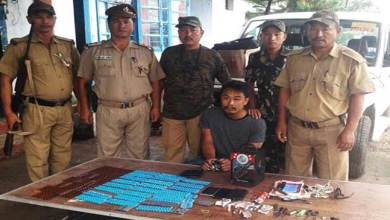 Photo of Arunachal: 1 Drug peddller arrested with Brown sugar capsules