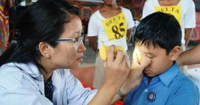 Arunachal:PTC organises eye check up camp for student