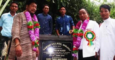 Arunachal:Techi Kaso inaugurates Hakum Village