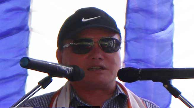 Arunachal: Rebia announces 25 lakh for construction of Medical barrack at Poma