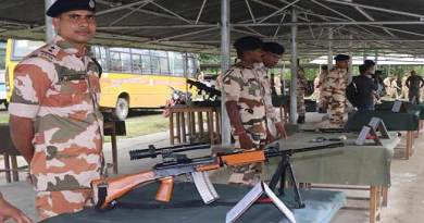 Arunachal:  NCC Combined Annual Training Camp organises weapon display