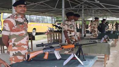 Photo of Arunachal:NCCCombined Annual Training Camp organises weapon display