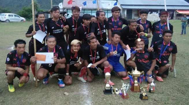 Arunachal: 11 days sartang champion league football tournament concludes