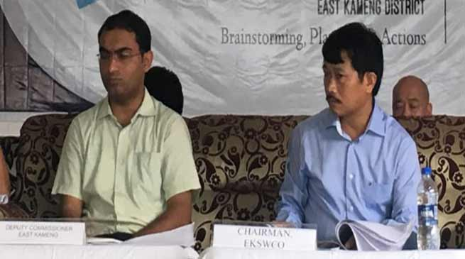 Arunachal: EKSWCO discussed lacunas and mechanism in education sector