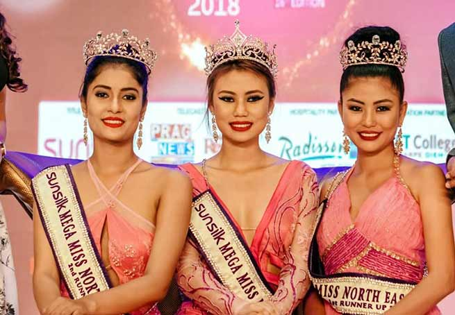 Arunachal: Mariam Longri from Arunachal Pradesh crowned 16th Sunsilk Mega Miss North East 2018