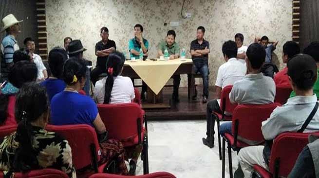 Arunachal: Interactive meeting between Tali's people and MLA Markio Tado