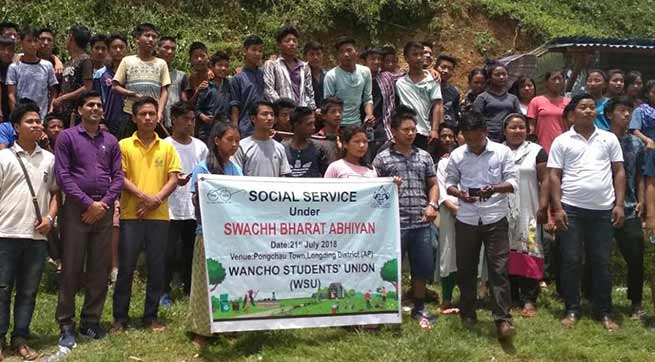 Arunachal: Mass Social services held at various places all over state