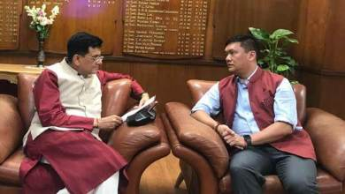 Photo of Khandu requests Goyal to expedite railway projects in Arunachal Pradesh