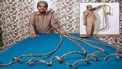 Watch Video- Shridhar Chillal, Indian man with world's longest nails, finally cuts after 66 years