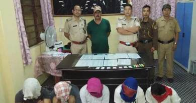 Arunachal:  Drug Peddlers and Addicts nabbed in Roing, Ganja seized in Khonsa