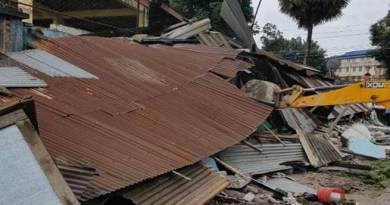 Arunachal: Eviction in and around TRIHMS