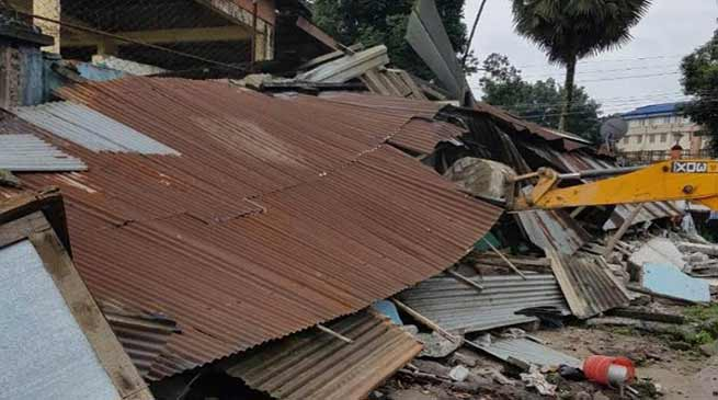 Arunachal: Eviction in and around TRIHMS