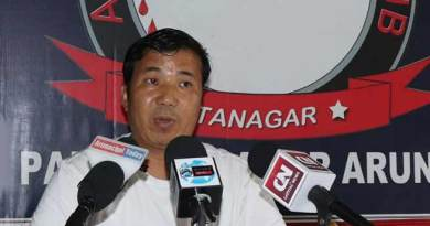 Itanagar : IHHT fund mismanaged- alleges Gora Lotak
