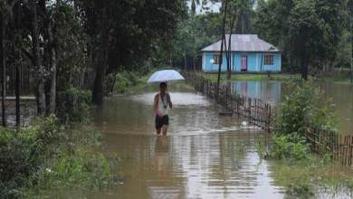Photo of Arunachal: Hollongi Patila village submerge after heavy rain triggers flash flood