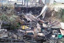 Photo of Itanagar: Fire razes shop, house in RWD colony D-Sector