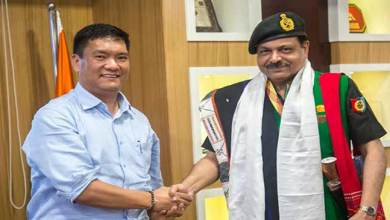 Photo of Khandu discussed with NCC officials for its expansion in Arunachal