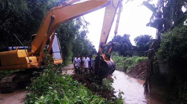 Arunachal: Social service held at flood hits Hollongi Patila