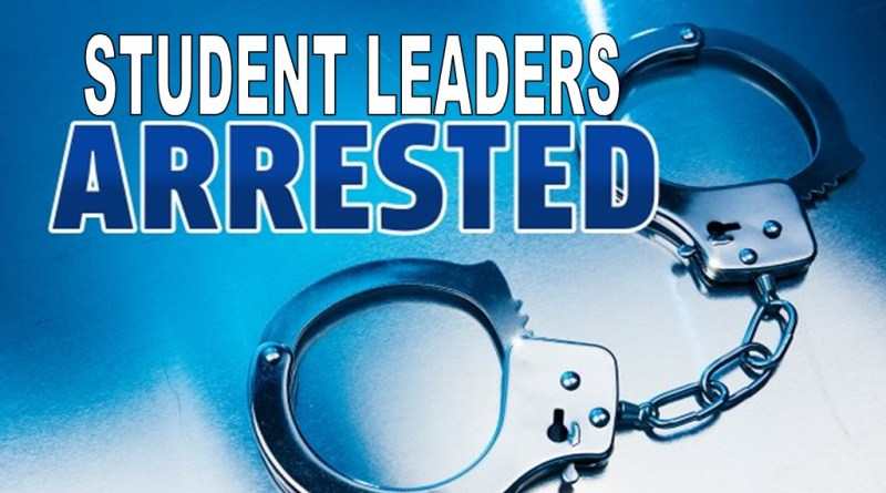 Itanagar : Capital police arrested two Student leaders