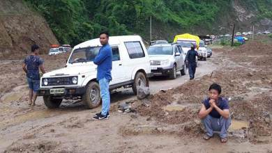 Photo of Arunachal: Hundreds stranded due to landslide on Hoj-Sagalee road