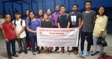 Itanagar:3 days science exposure tour to Bangalore for meritorious students
