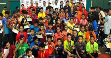 Arunachal: 6th Dorjee Khandu Memorial State Badminton Championships-2018 concludes