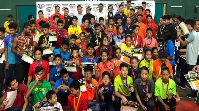 Arunachal: 6th Dorjee Khandu Memorial State Badminton Championships-2018 concludes