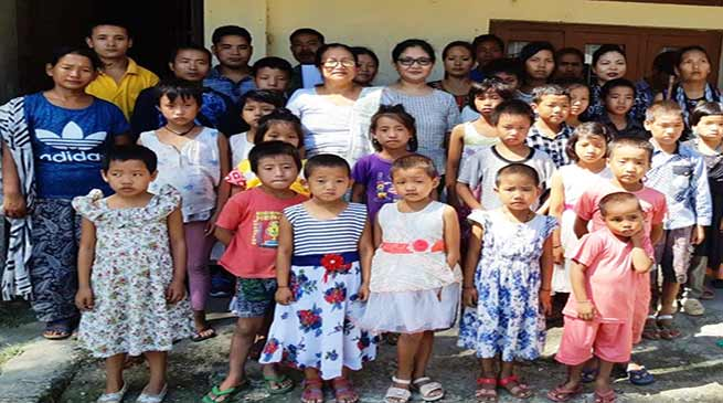 Itanagar : APSCPCR rescues 22 children from an Orphanage Home