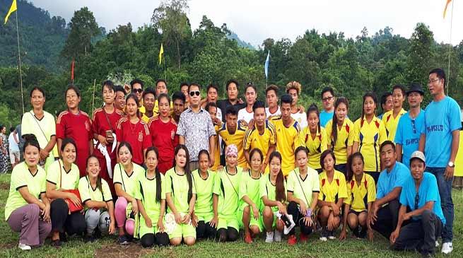 Arunachal: Susil Nallo inaugurates volleyball tournament