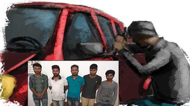 Itanagar: Capital Police arrested 5 Inter-state Car lifter