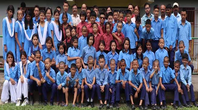 Arunachal:DPMSHI & VI students passed class X Board