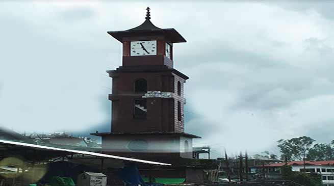 Itanagar : Clock tower is telling the story of careless administration