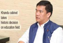Photo of Arunachal: Khandu cabinet takes historic decision on education field
