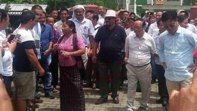 Photo of Arunachal: Komoli Mosang gets warm welcome in Jairampur
