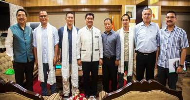 Arunachal: MOC members calls on CM Khandu